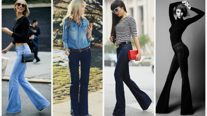 Trend İspanyol Paça Jean Pantolon Modelleri