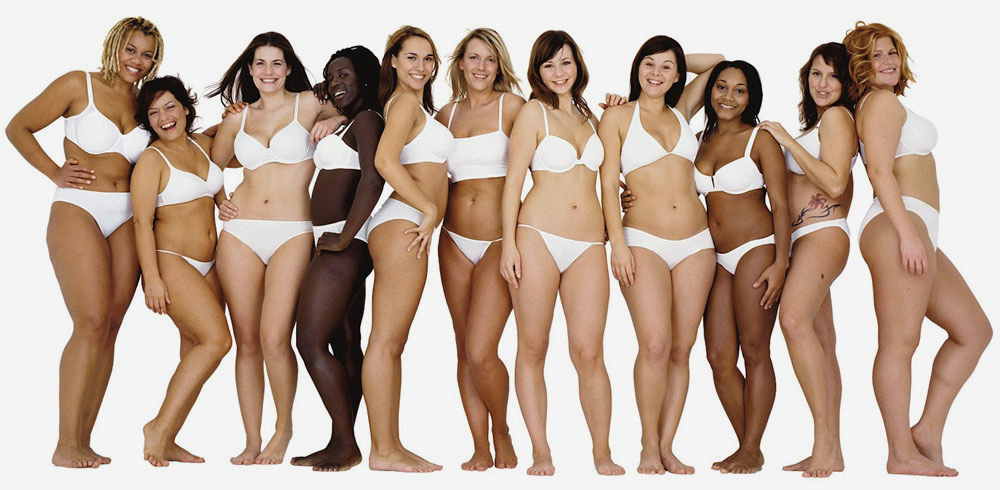 women-of-different-body-sizes