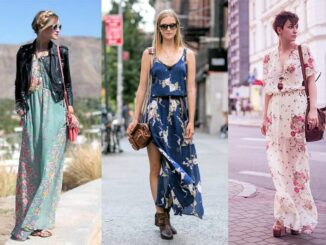 Sokak Modasında Günlük Elbiseler