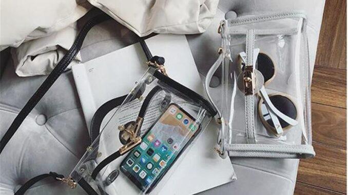 şeffaf çantalar trendi