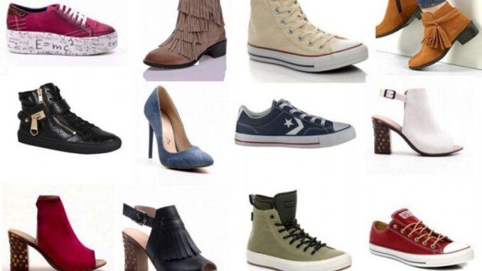 ayakkabı türleri