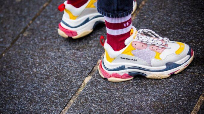 sneaker modası